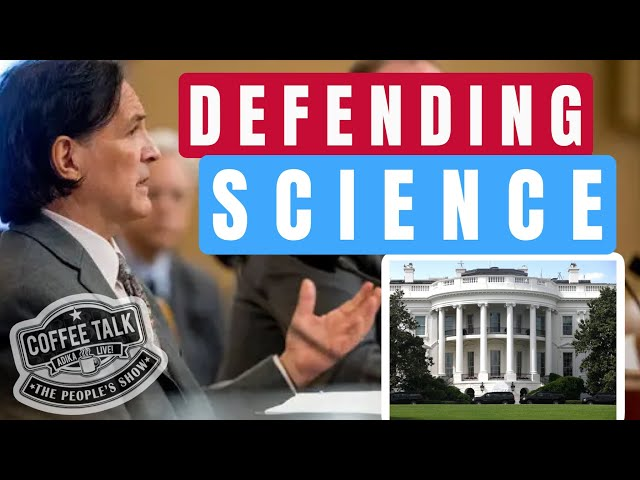 #1242 Defending Science(Inside the White House)! Scientist at US Department of State: Rod Schoonover