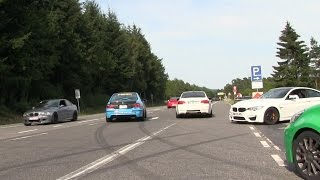 BMW M-MADNESS at the Nürburgring FAST ACCELERATIONS (M3, M3 GTS, M3 CSL, M4, M5, M6, 1M and Z3M)