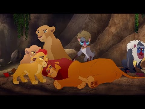 Lion Guard: Good King Simba song / Simba is stung! | The Scorpion's Sting HD Cli[p