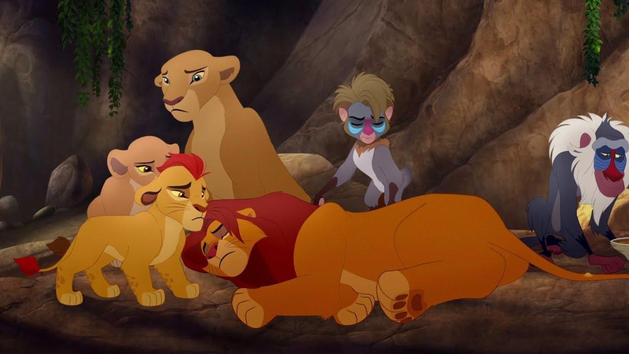 Lion Guard Good King Simba Song Simba Is Stung The