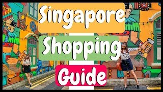 Shopping In Singapore | Top 5 Places to shop | Street Shopping | Luxury Shopping | Chillystudio