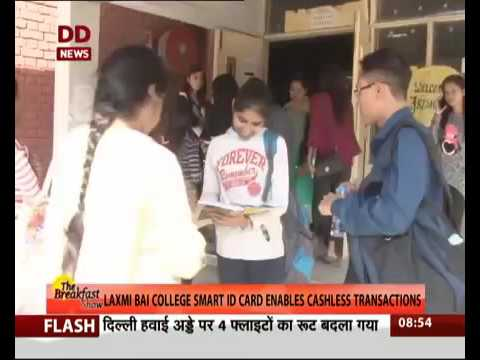 Lakshmibai college goes Cashless!!
