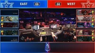 East vs West Nexus Blitz ft. Faker & Jizuke Highlights | All-Star 2018 Day 3 5v5