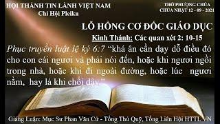 HTTL PLEIKU - Chương Trình Thờ Phượng Chúa - 12/09/2021