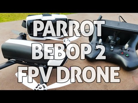 Parrot Bebop 2 FPV Bundle - REVIEW