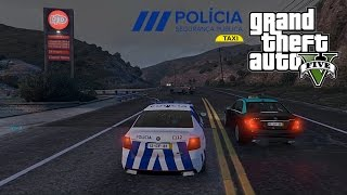 GTA V - Policia PSP @ Taxi Suspeito