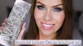 Ikonické Urban Decay kouřové oči s UD Smoky | Iconic Urban Decay Smoky palette eyes tutorial
