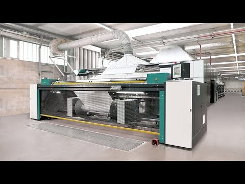 PROSIZE ® – A sizing machine for spun yarns by KARL MAYER