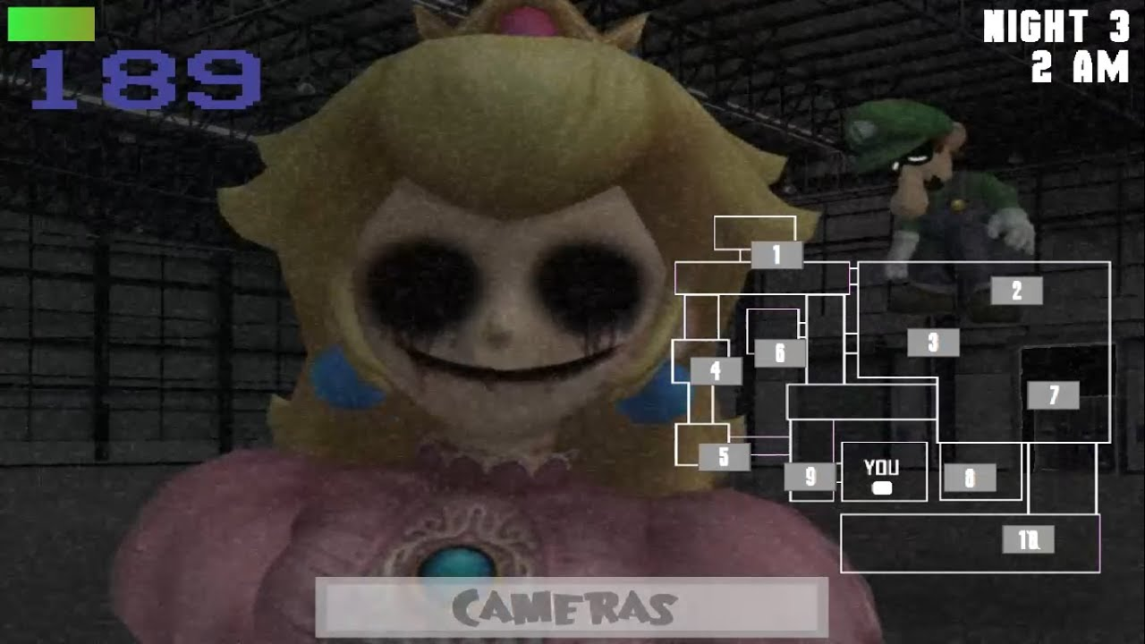 Five Nights At Wario's Reworked Gameplay Night 3,4 And 5