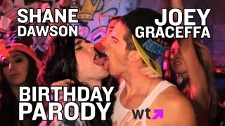 Shane Dawson and Joey Graceffa Make Out   What's Trending Now