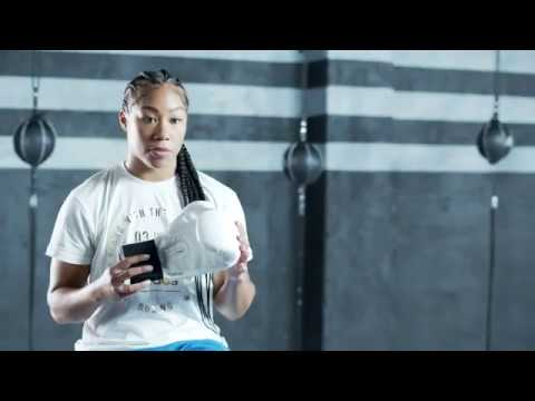 BOXING - Alycia Baumgardner talks about the adi-Speed 50 - adidas pro line