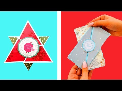 4 DIY Pop Up and Surprise Cards | Paper Crafts to make at home 2019 - Giulia's Art