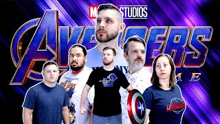 My friend watches Avengers: ENDGAME for the FIRST time || MCU Phase 3