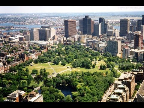 Boston Commons Park Tour