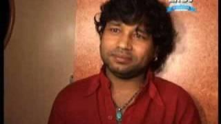 kailash kher at a song recording of galli cricket