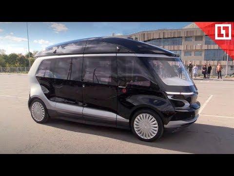 Тест-драйв беспилотного автобуса «НАМИ-КАМАЗ»