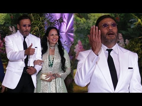 Jackie Shroff's FUNNY Moments With Media Reporter At Sonam Kapoor's Wedding Reception