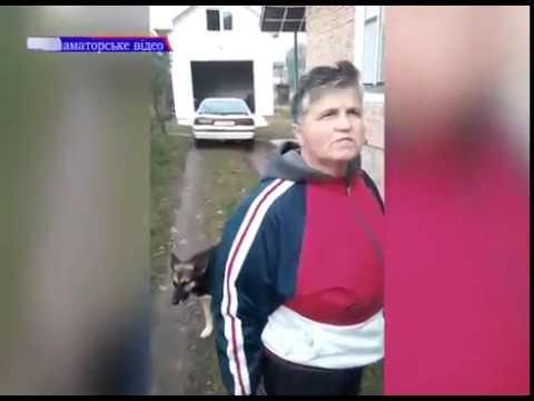 Ивано-Франковск. Сам иди в своё АТО! Мать топором отбивает сына от военкома.