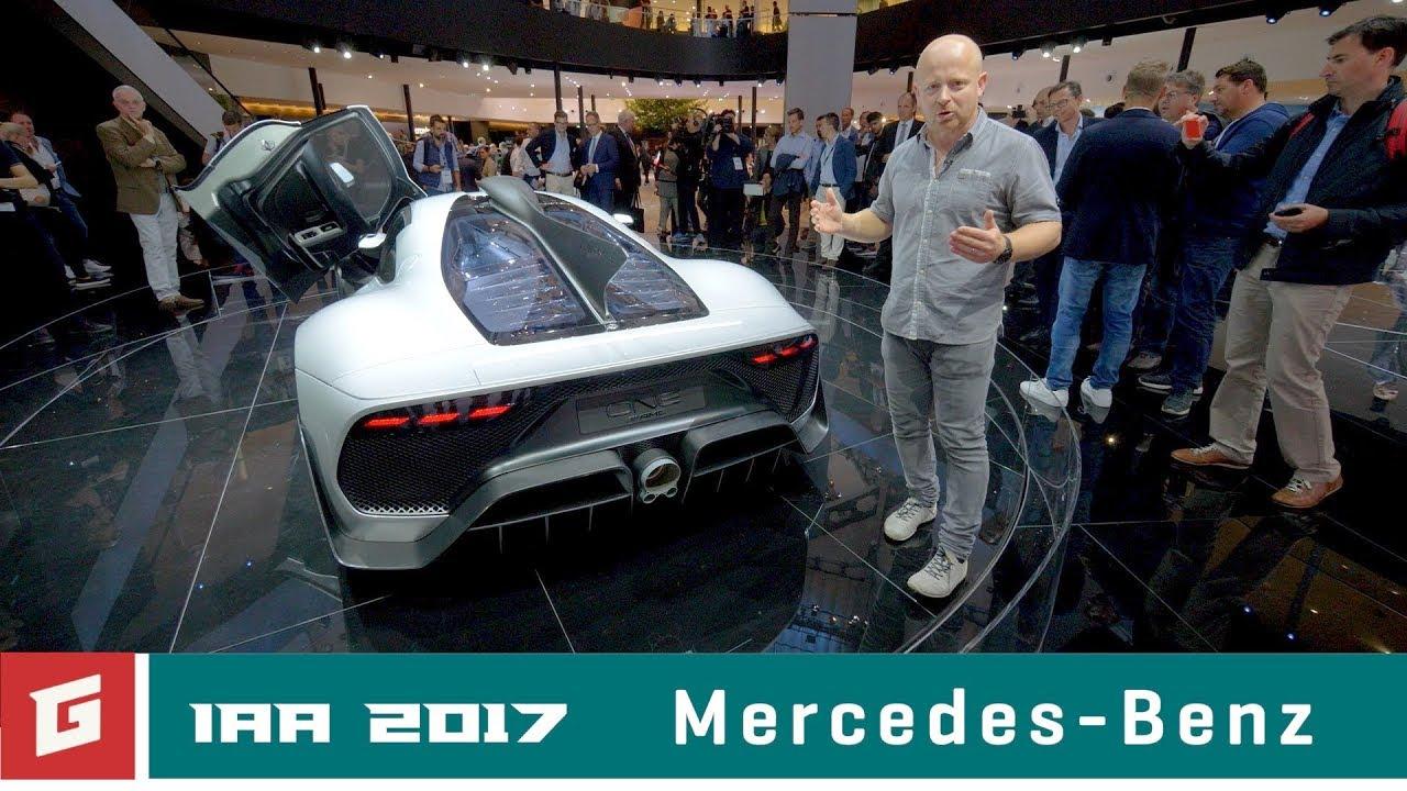 Mercedes-AMG Project One - IAA Frankfurt - GARAZ.TV - Rasťo Chvála - YouTube