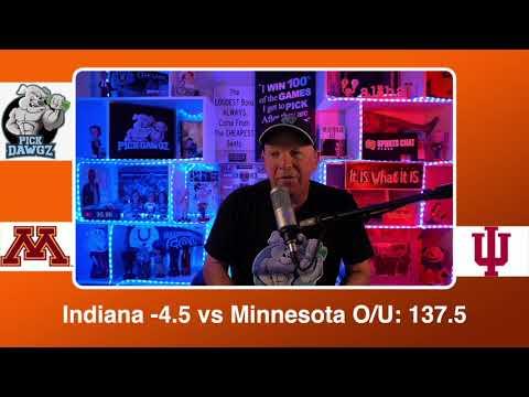 Indiana vs Minnesota 2/17/21 Free College Basketball Pick and Prediction CBB Betting Tips