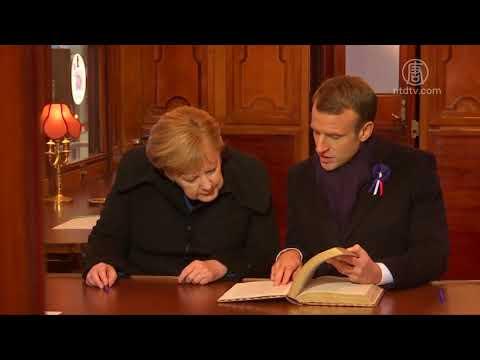 巴黎纪念一战结束一世纪 德俄美法等国领导参加(第一次世界大战_停战协议)