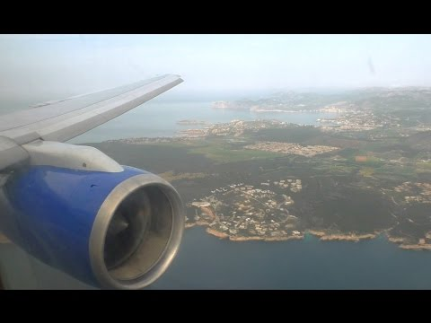 Thomas Cook Boeing 757-200 | Manchester to Palma De Mallorca | Takeoff and Landing - TCX