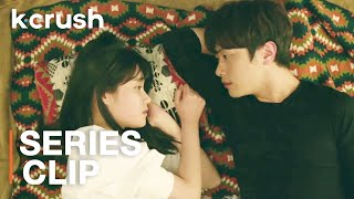 "Finally have my crush right where I want him...in my beach tent | Clip: K-Drama ""Hot and Sweet"""