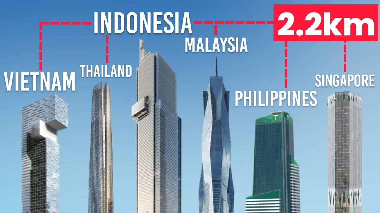 NEW! TALLEST BUILDING Under Construction in ASEAN COUNTRIES (SOUTHEAST ASIA)!