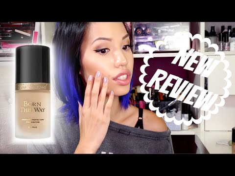 new too faced born this way foundation review youtube. Black Bedroom Furniture Sets. Home Design Ideas