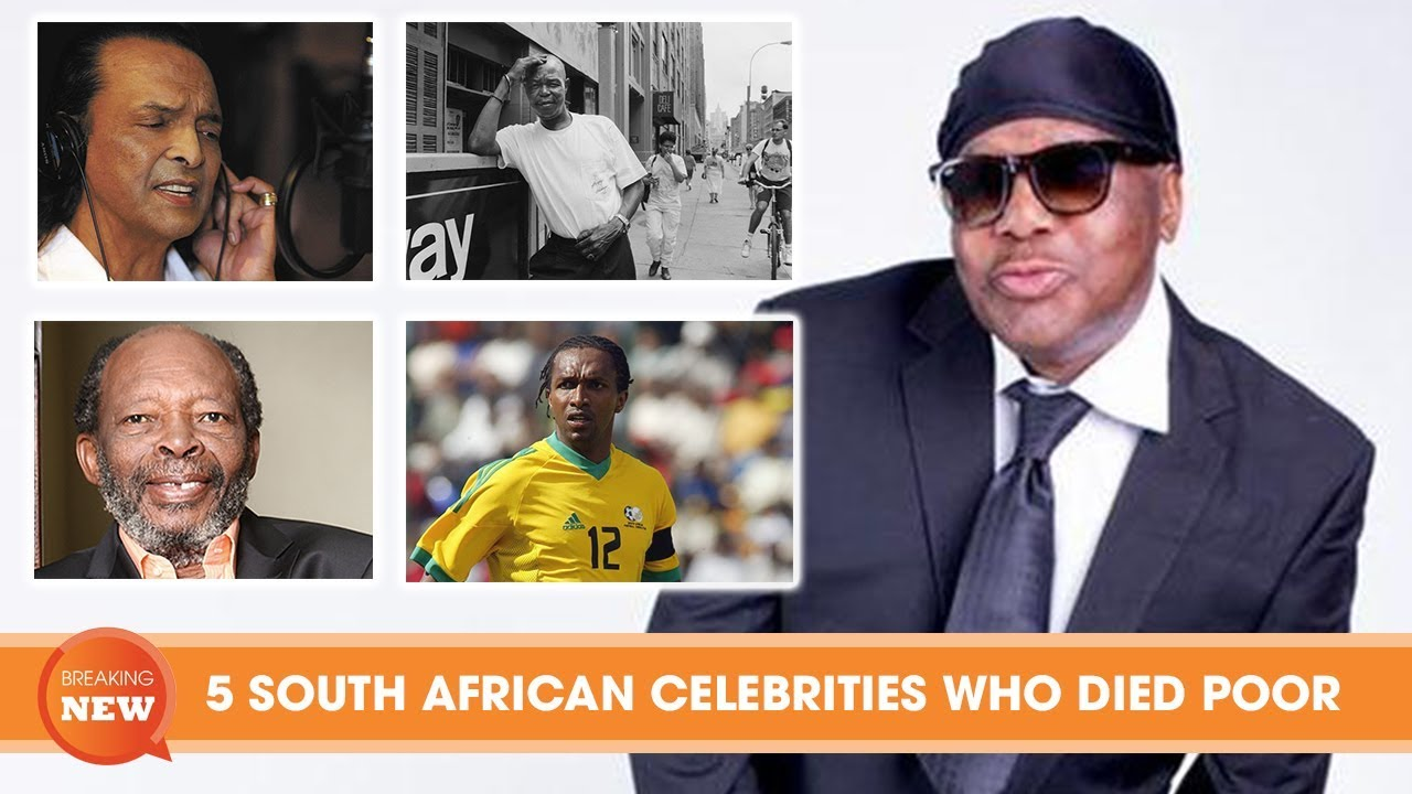 15 famous South African musicians and celebrities who died poor