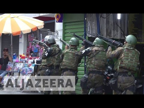 Brazil army shuts down largest favela in Rio de Janeiro