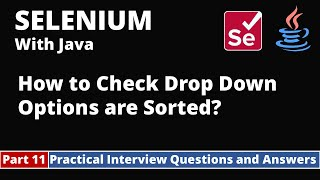 Part11-Selenium with Java Tutorial | Practical Interview Questions and Answers