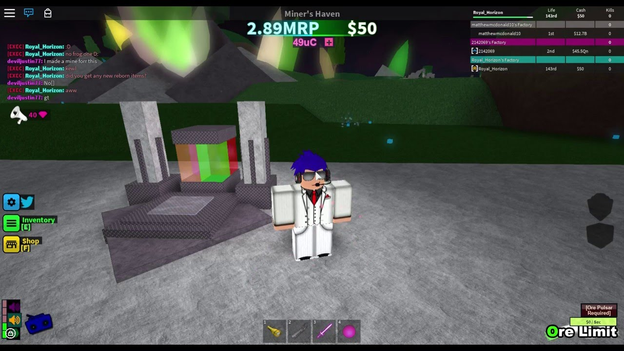 how to get the vent item in roblox miners haven