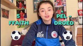Begw | 5 Ffaith Pêl-Droed | Fideo Fi