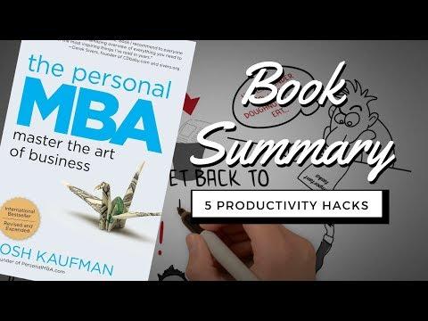 TOP Life Hacks Productivity - Top 5 Productivity Hacks From