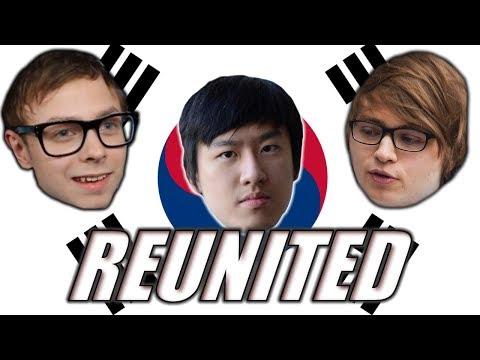 C9 Sneaky's 2017 Korean Adventures: Reunited with Rush (& SKT T1 Nightblue?)