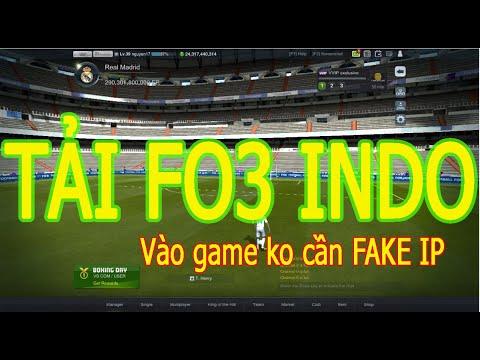 Hướng dẫn TẢI FIFA ONLINE 3 INDONESIA nhanh nhất không cần FAKE IP VPN