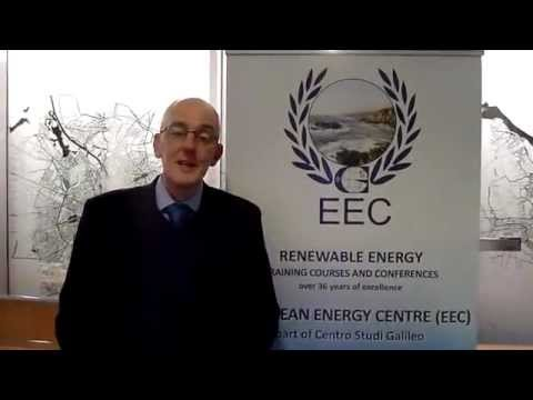 Jonathan Guthrie on Renewable Energy Finance at the UNEP-EEC Global Round Table, Edinburgh