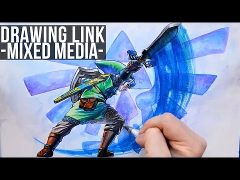 drawing-link-from-the-legend-of-zelda-skyward-sword