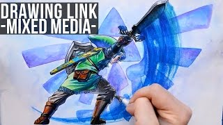 Drawing Link From The Legend of Zelda Skyward Sword