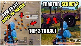 TOP 2 SECRET HOW TO GET APPLES  N MA N MATCH PUBG MOB LE AFTER 0.8 UPDATE  DUMMY TRACTOR TR CK