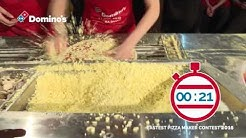 Fastest Pizza Maker Contest 2016 Domino's Pizza Netherlands