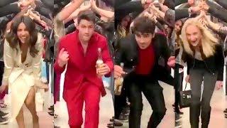 Priyanka Chopra And Nick Jonas CRAZY FUN At Joe Jonas And Sophie Turner Wedding Party