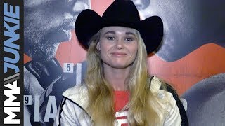 UFC Milwaukee: Andrea Lee full pre-event interview