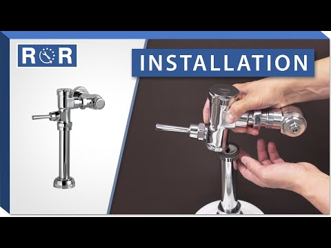 American Standard Manual Flushometer | Installation | Repair And Replace