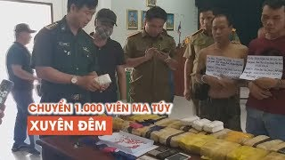 Nghi phạm người Lào chuyển 100.000 viên ma túy xuyên đêm vẫn không qua mắt được biên phòng Việt Nam