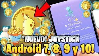 COMO Jugar con JOYSTICK Android 7, 8, 9 & 10 Pokemon GO ! *ACTIVACION* PokeMonedas Gratis +SORPRESA!