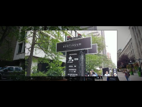 Kontinuum - Underground Multimedia Experience (Warning lots of flashing lights)