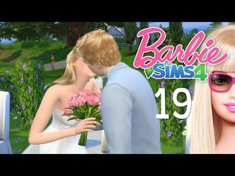 The Sims 4 Barbie #19 งานแต่งงานของบาร์บี้และเคน