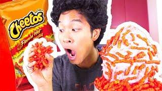 Giant Hot Cheetos Cupcake!!